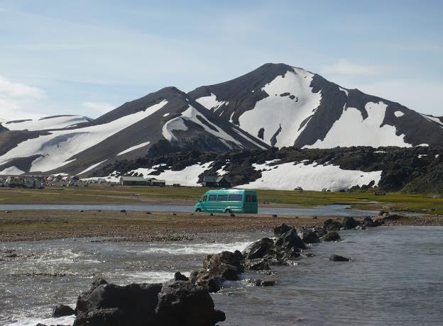 Landmannalaugar in Islanda