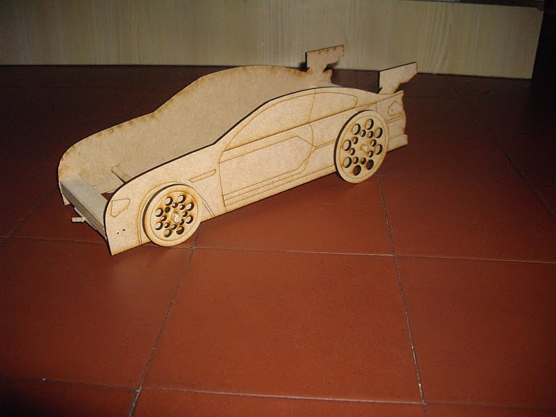 Arts And Craft Rubber Band Racer