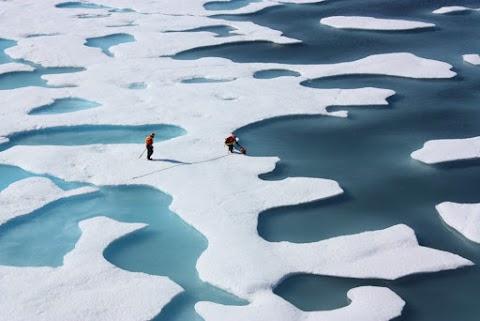 Rekordmértékű a mikroműanyag koncentrációja az északi-sarkvidéki tengeri jégben