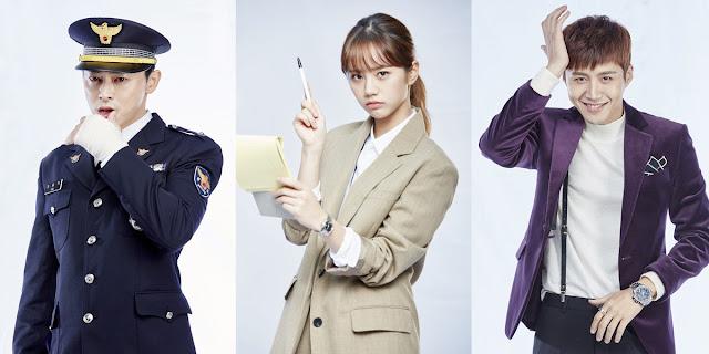 "Sinopsis Drama Korea ""Two Cops"" Yang Dibintangi Oleh Jo Jung-Suk dan Hyeri Girl's Day'"