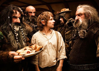 Bilbo and Dwarves, The Hobbit