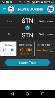 Android phone se Railway Ticket kaise book kare ?