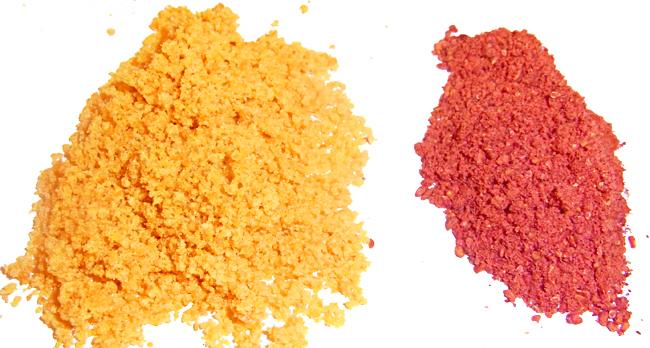orangenpulver bio gefriergetrocknet