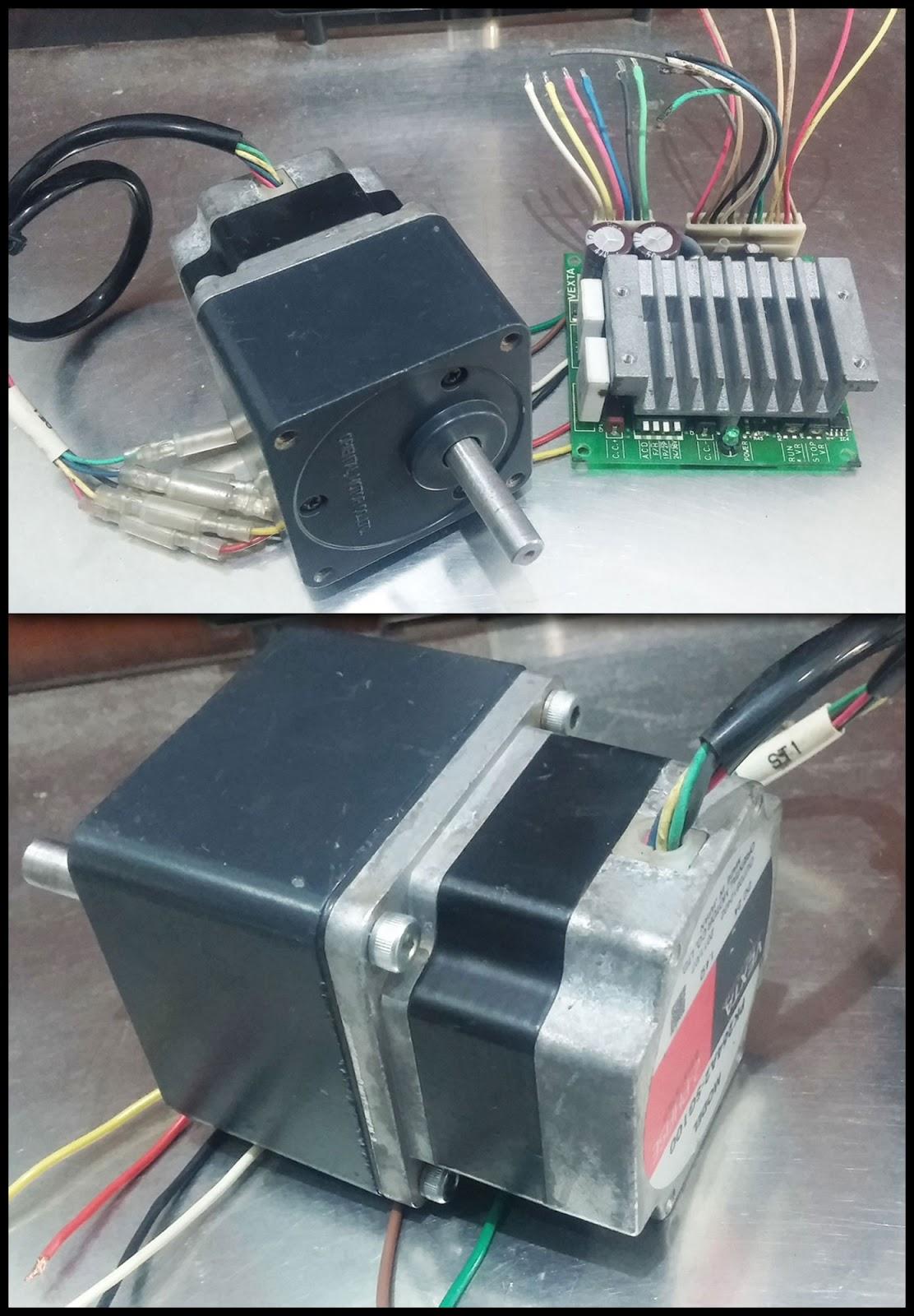 2nd Machine 2 Phase Stepper Motor Pk264a2 Sg100 Csd2120