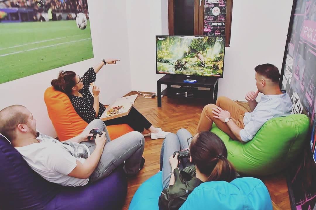 TrickZone, cel mai nou loc de gaming de pe Centrul Vechi (Covaci, 4)