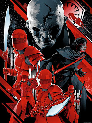 "Star Wars The Last Jedi ""The New Order"" Screen Print by Alexander Iaccarino x Dark Ink Art"