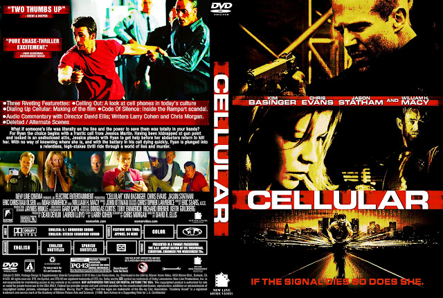 Cellular DVD Cover