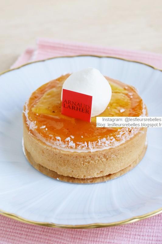 Pâtisserie Arnaud Larher tarte Honolulu mangue fruit de la passion