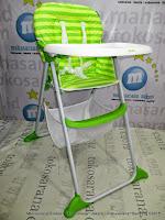 cocolatte cl-38 green kursi makan bayi