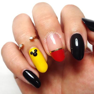 Minimal Mickey Nails