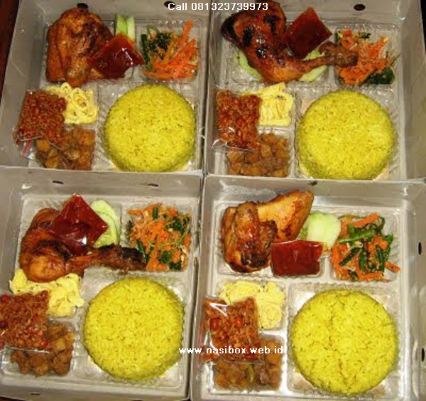 Nasi box syukuran 7 bulanan di ciwidey