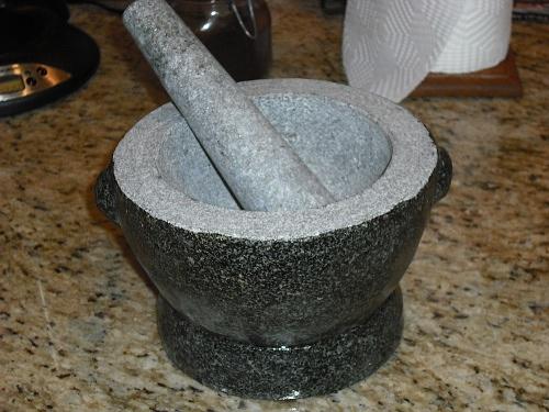 Gadgets We Take For Granite Seasoning A Mortar Pestle