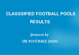 Wk16 UK football pools results