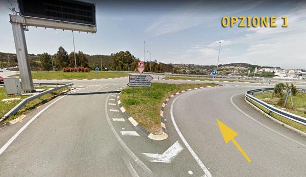 Aeroporto di A Coruña in macchina opzione 1