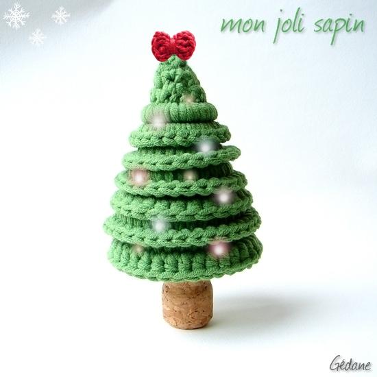 Patrones crochet - Tutorial arbol de navidad ...