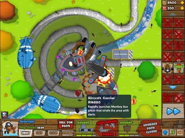 Black And Gold Games Bloons Tower Defense 5 Google