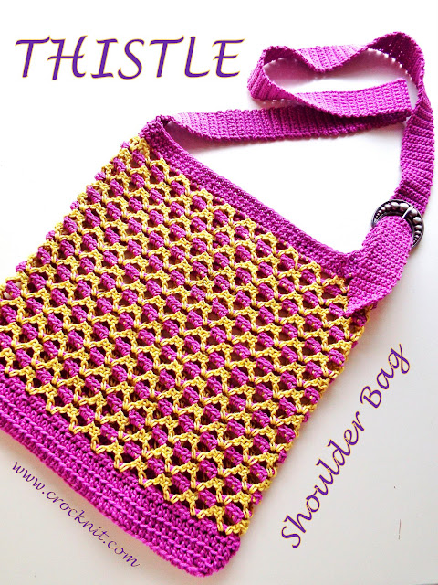crochet patterns, bags, shoulder bags, v-stitch,