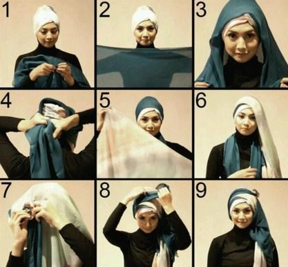 Kreasi Hijab Tumpang Khusus Wisuda