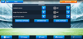 Tampilan Dream League Soccer