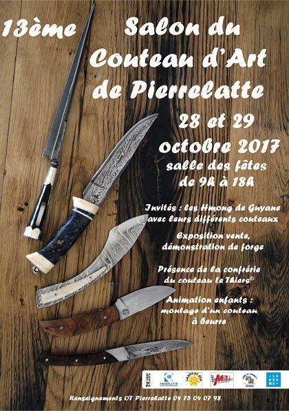 salon du couteau d 39 art de pierrelatte 2017