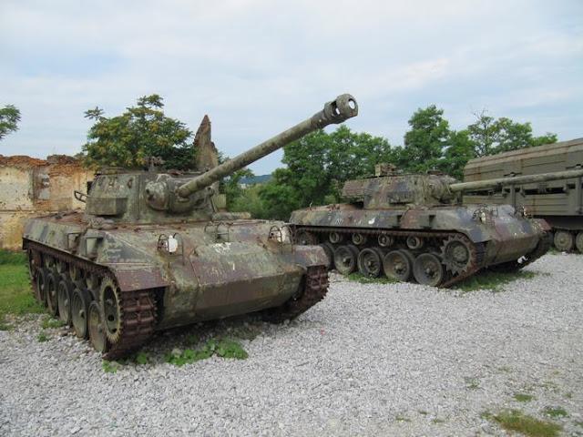 tanque M18 Hellcat, tanque guerra balcanes, tanque croata