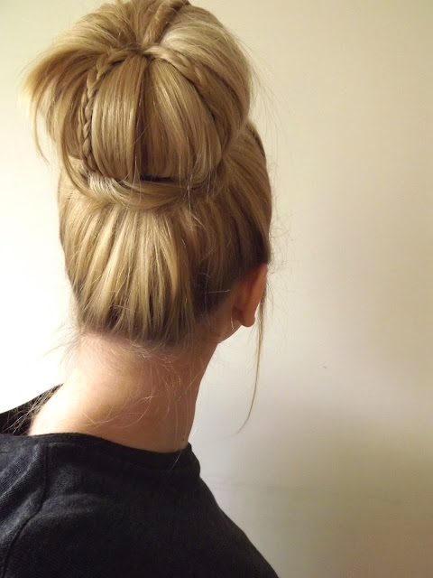hair style for shaped all hair makeover amazing bun hair style for 4667