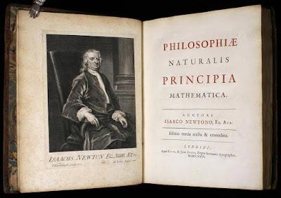 hukum newton, principia