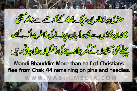 Persecuted Christians News From Pakistan in Urdu