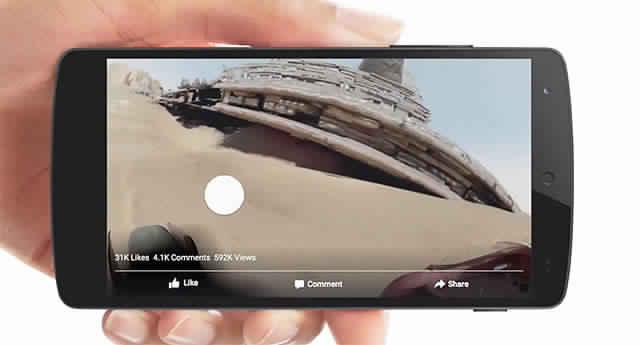 فيس بوك تتيح رفع الصور البانورامية 360 درجة