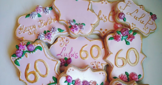 Birthday Cookies For Adult's