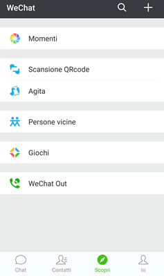 Come trovare nuove persone su WeChat