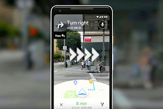 Fitur Baru Google Maps Navigasi Augmented Reality