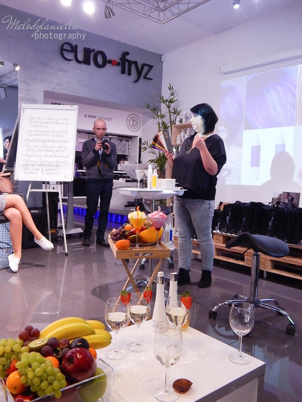 16  relacja spotkanie blogerek akademia z.one concept łódź szkolenia dla fryzjerów akademia fryzjerska koloryzacja melodylaniella jak dbać o włosy pielęgnacja koloryzacja włosów