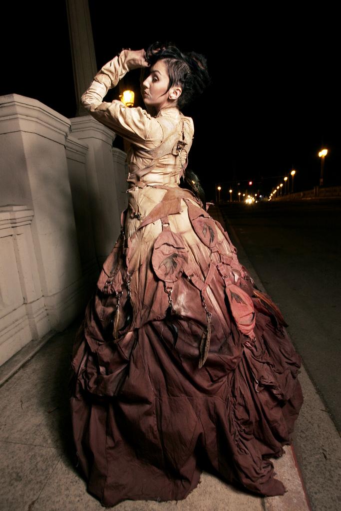 Steam Punk Wedding Dress 32 Cute