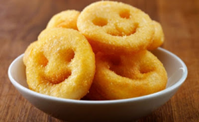 Potato Smiley Never Goes Wrong for Your Kid's Snack