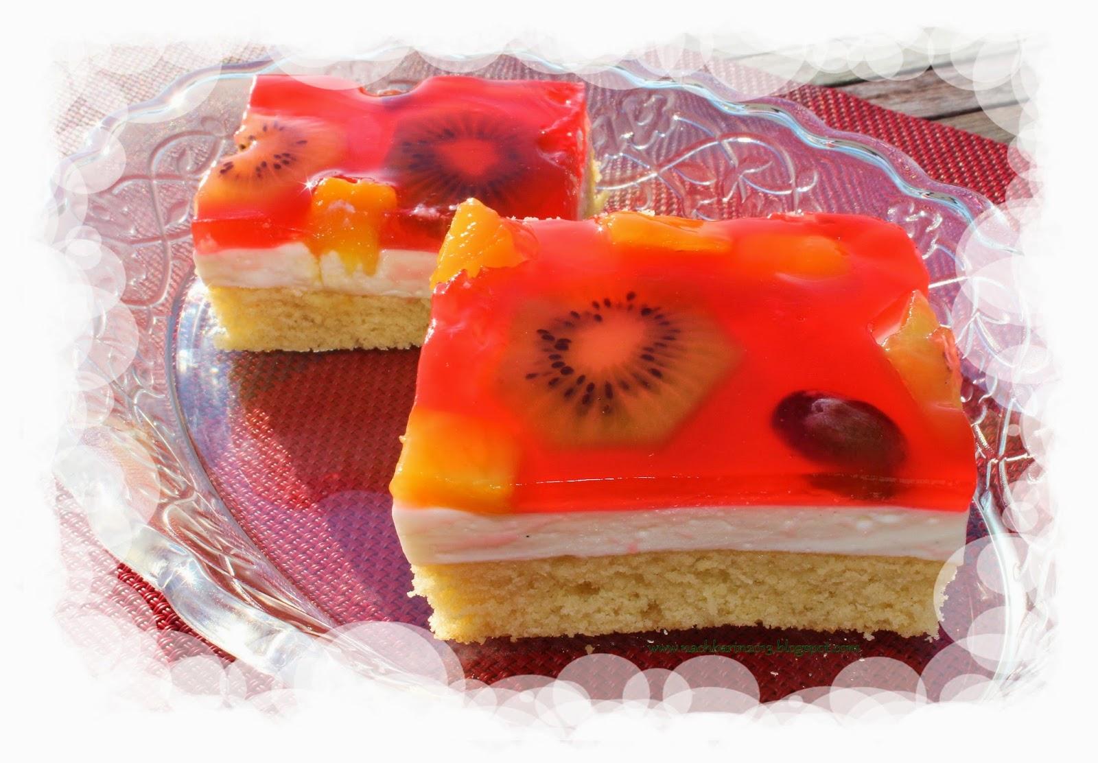 Die Lastige Nachbarin Rezept Fruchtiger Kuchen Kiwi Mango