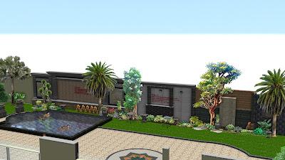 Desain taman surabaya art | www.jasataman.co.id