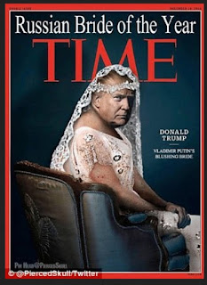 trump fake time magazine covers: bride of putin russian marriage