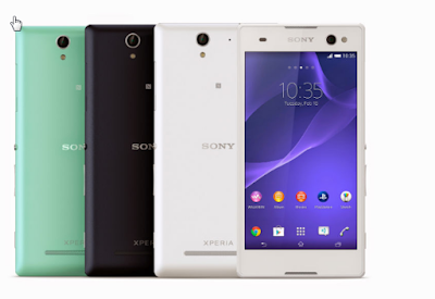 smartphone from sony