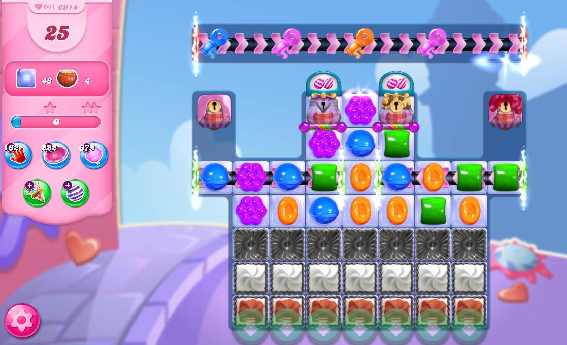 Candy Crush Saga level 6914