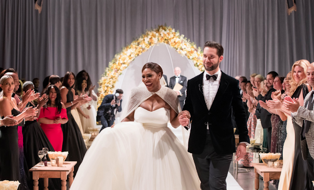 Photos:Serena Williams & Alexis Ohanian Tie The Knot In A Fairy Tale Wedding