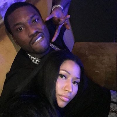 Nicki Minaj And Meek Mill Loved Up In New Photo