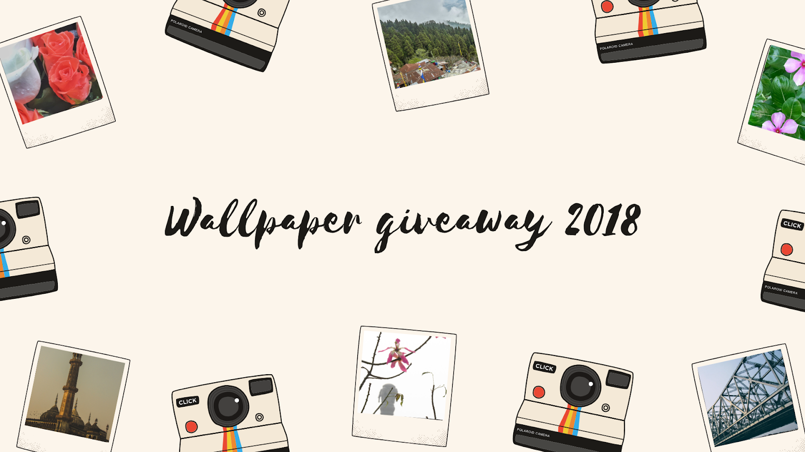 wallpaper giveaway 2018 mayukh datta