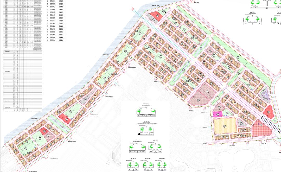 Quy hoạch Liền kề Flc Tropical City Cao Xanh Hà Khánh