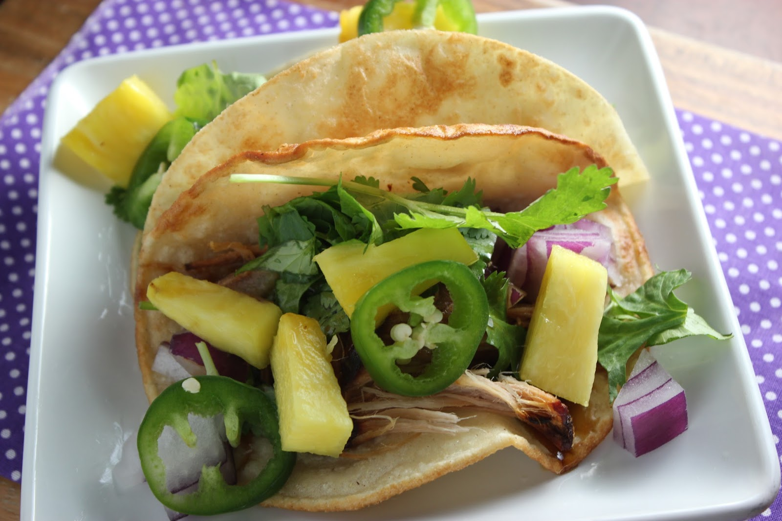 Slow cooker teriyaki pork tacos. Perfect for Taco Tuesday. Easy and ...