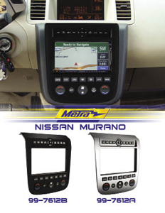 Nvs Audio 2003 2007 Nissan Murano Radio Install Kit Now