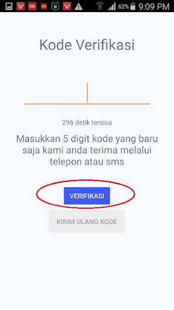 Cara Verifikasi Nomor Handphone di AyoSlide