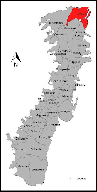 parroquias urbanas quito mapa