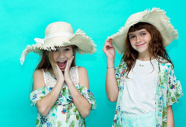Ropa de moda para niñas primavera verano 2018.