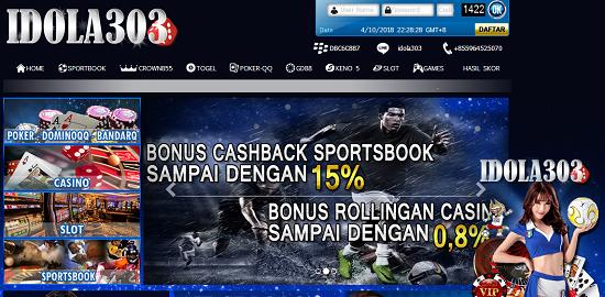 Idola303.com Agen Taruhan Judi Bola Casino Terpercaya